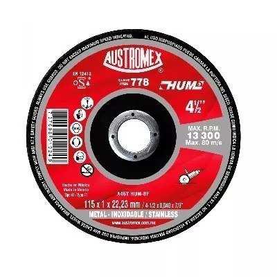 100 Pzas Disco Corte De Metal 4 1/2 Austromex 778