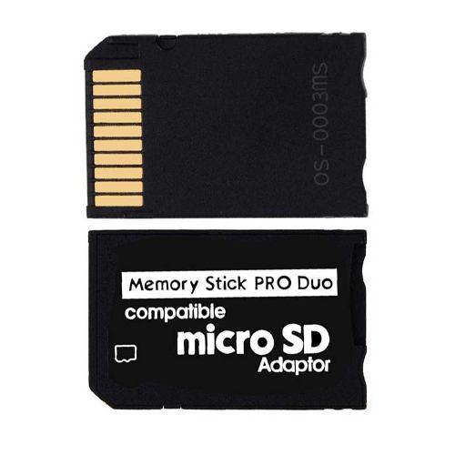 Adaptador Micro Sd A Produo Para Psp Camaras Envio Incluido