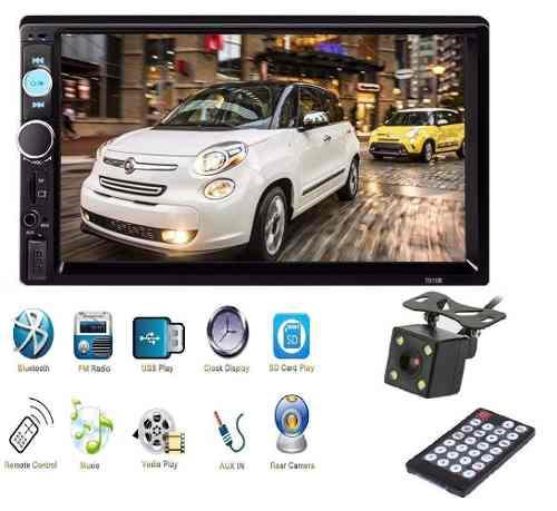 Auto Estéreo Pantalla Tactil Usb, Bluetooth + Cámara
