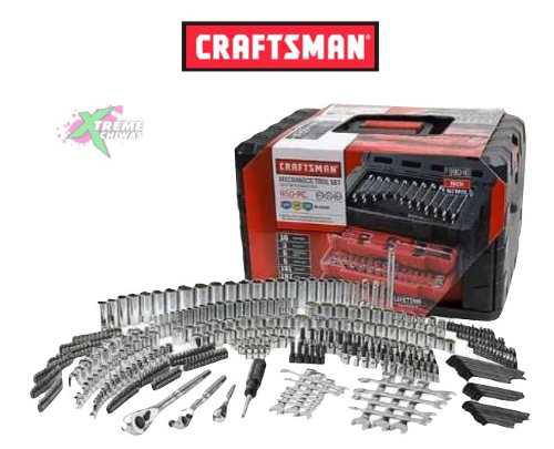 Caja De Herramientas Craftsman Mecanica 450 Set Piezas Xtr P