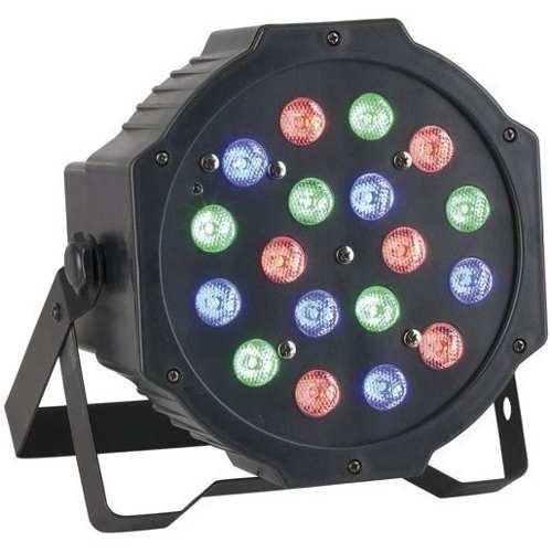 Combo 4 Cañones Par Led Rgb 18x1 Luz Audioritmico Cañon