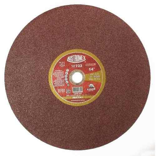 Disco Suave Rojo Corte De Metal Austromex 14 Pulgadas 733