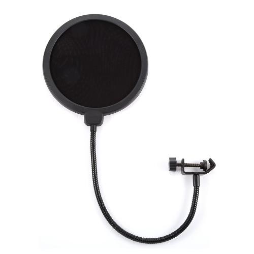 Filtro Anti Pop Para Microfono Profesional Antipop Flexible