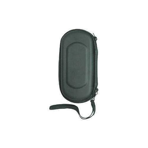 Funda Rígida Negra Para Sony Psp 2000 Con Cargador De Coche