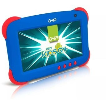 Kit 2 Tablet Ghia Kids Niños Quadcore Azul/ Rosa Android