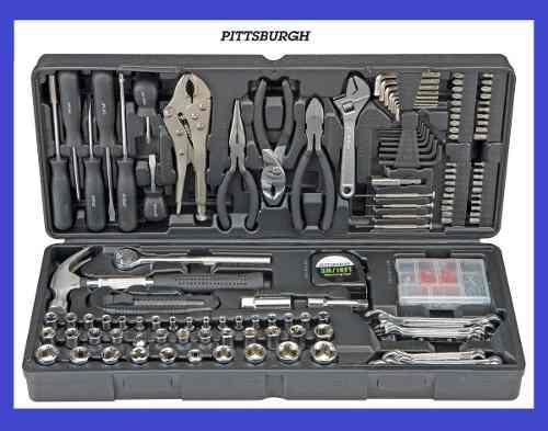 Kit Estuche Caja Herramienta Mecanica Y Electrica 130 Piezas