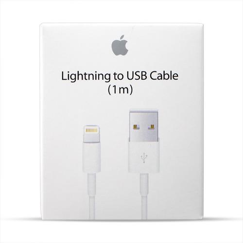Lote 10 Cables Lightning Original Apple 1m + Envio Gratis