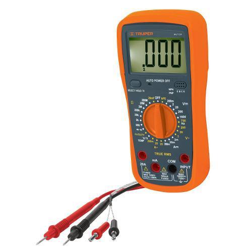 Multimetro Digital Ind. 1000 V Truper 10402