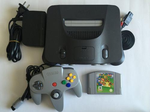 Consola Nintendo 64 Mario 64 1control,original Envio Gratis.