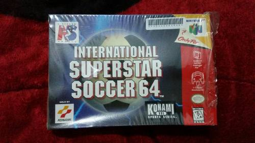 International Super Star Soccer 64 N64 Completo Nintendo 64
