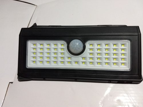 Lampara De Pared Solar 55led Sensor De Movimiento Exteriores
