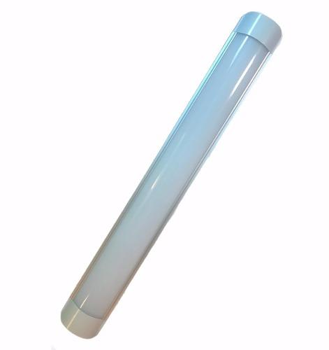 Lampara Tubo Plana Opalina Led 18w 60 Cm Oferta Envío Full