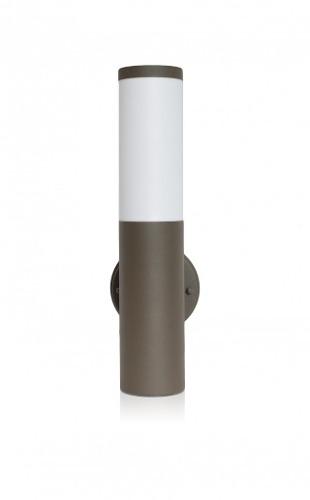 Lámpara Arbotante - Exterior Cilindro Recto - Café