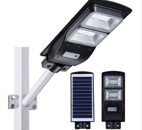 Luminaria Led 40w C/panel Solar Lampara Alumbrado Publico