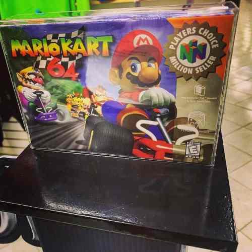 Mario Kart 64 Nuevo Nintendo Mario Bros
