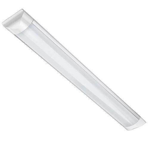 Tubo Led Doble Ancho Transparente 36w  Aluminio