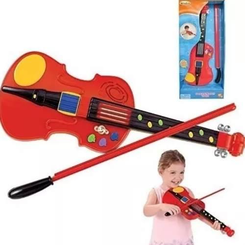 Violin Musical Luces Concert Master Violin Infantil Msi