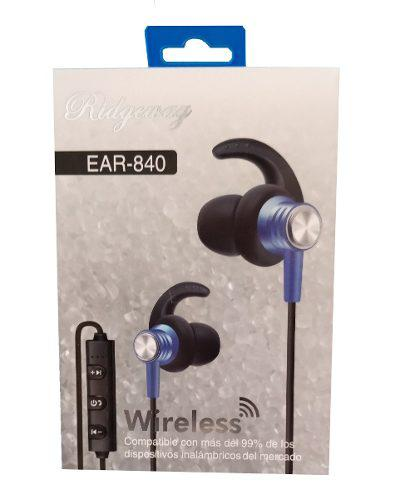 Audifonos Magneticos Ridgeway Inalámbricos Bluetooth