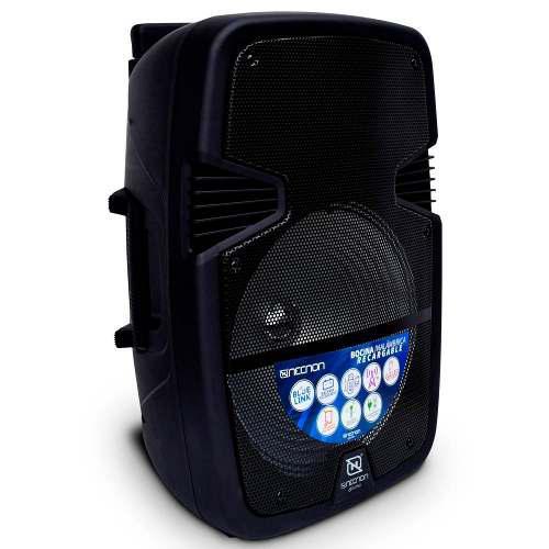 Bafles Amplificados 15 Pulgadas Bluetooth Nb-15c Mi Necnon