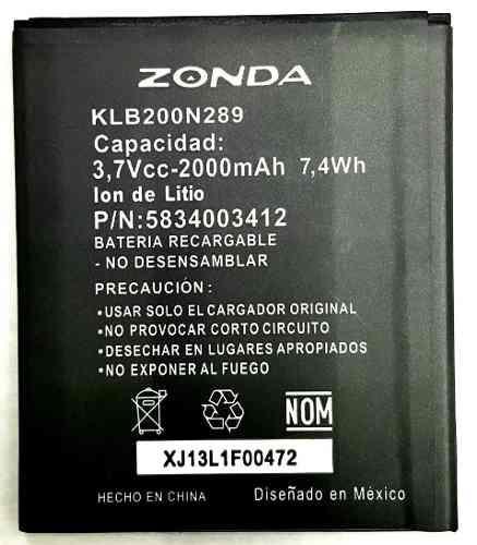 Bateria Pila Zonda Klb200n289 2000 Mah Original