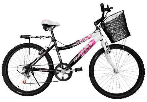 Bicicleta Lady África Rod 24 Equipada 6 Velocidades