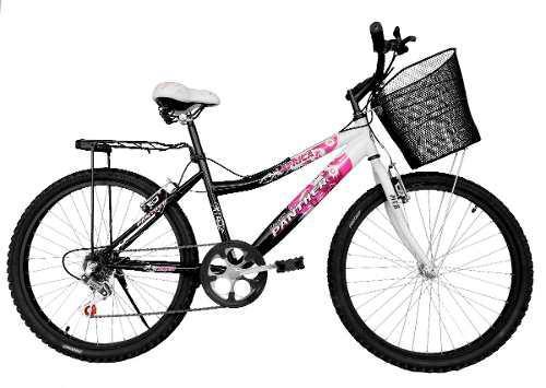 Bicicleta Lady África Rod 26 Equipada 6 Velocidades