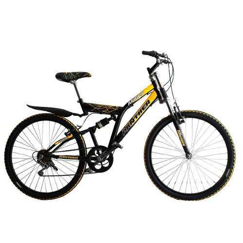 Bicicleta Montaña Africa R26 Doble Suspensión 18