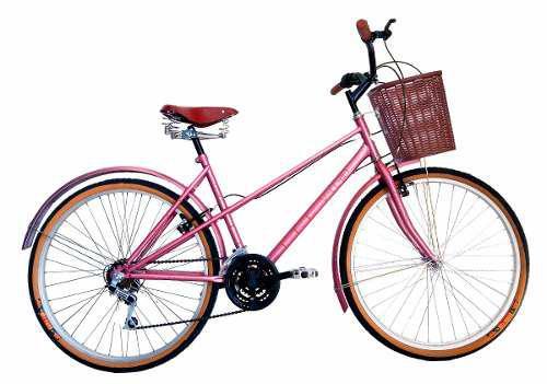 Bicicleta Vecchio Vintage Retro Rodada 26 Con 6 Velocidades