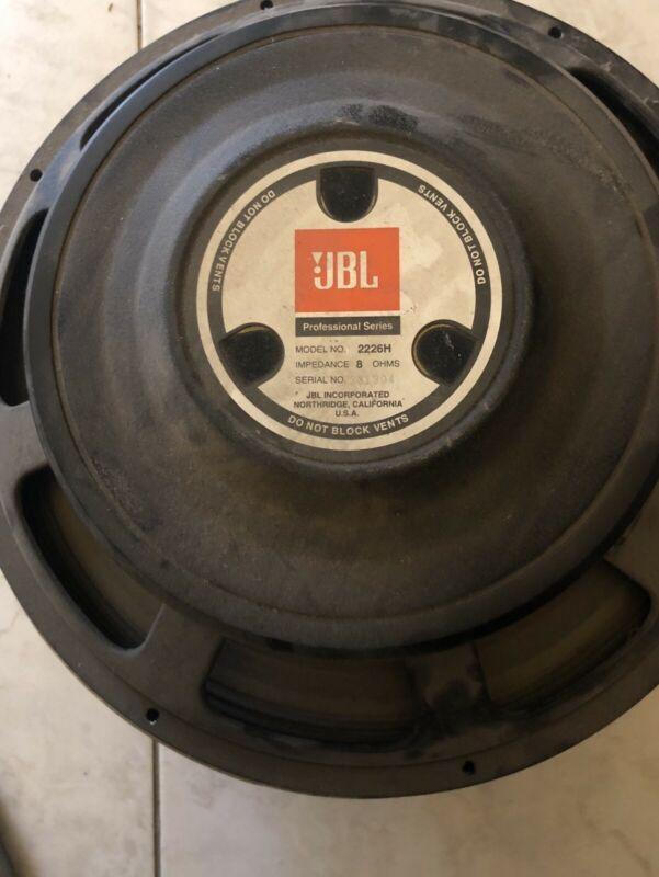 Bocinas JBL Modelo H, 8 Ohms