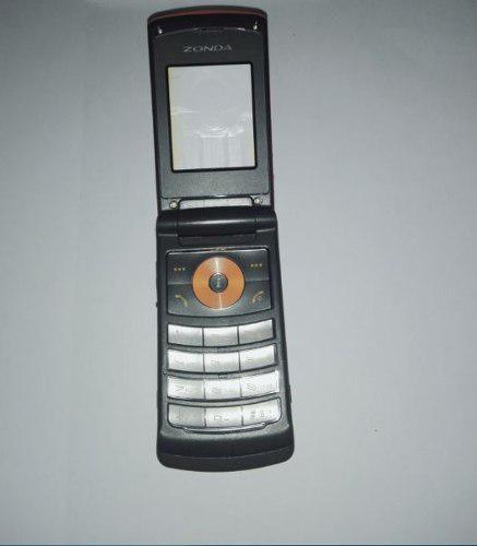 Carcasa Para Celular Zonda Zmem-1098 Color Negro Con Naranja