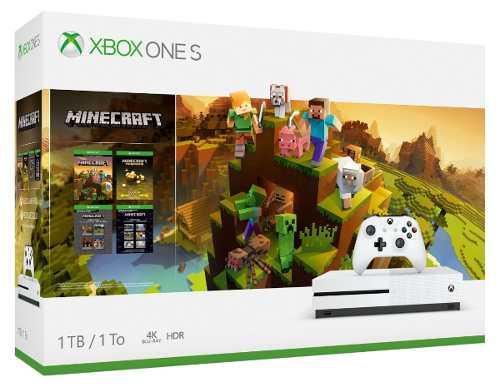Consola Xbox One S 1tb Minecraft Nuevo Y Sellado Antes $7600