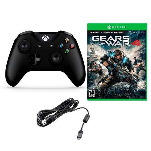 Control Xbox One Inalambrico Microsoft+ Codigo Gears Of War