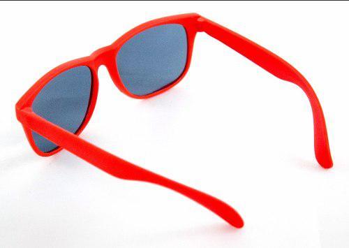 Gafas Lentes Para Sol Plástico Rojo Gafas Lentes