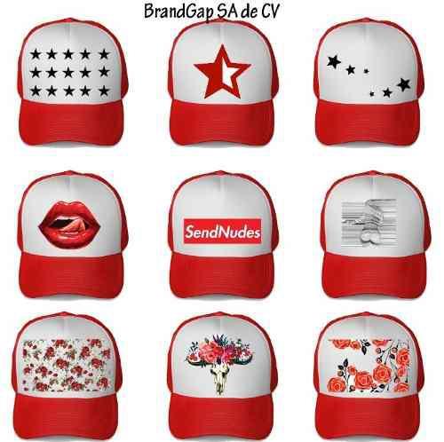 Gorra Personalizada Roja Brandgap