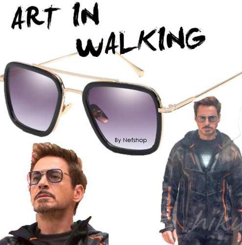 Lentes 2018 Tony Stark Avengers Infinity War Iron Man Moda