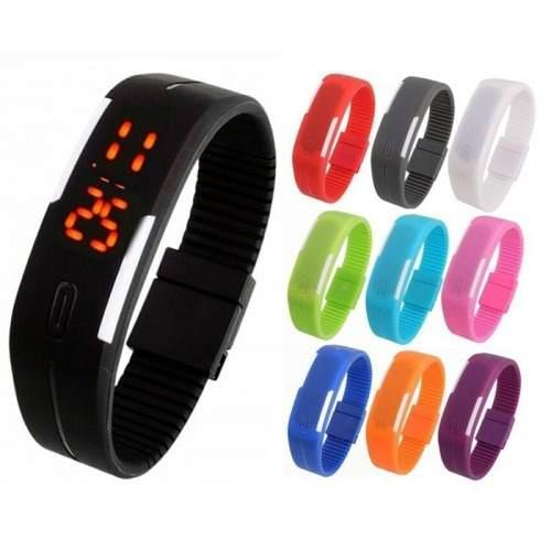 Lote Mayoreo 10 Pz Reloj Touch Led Digital Deportivo Colores