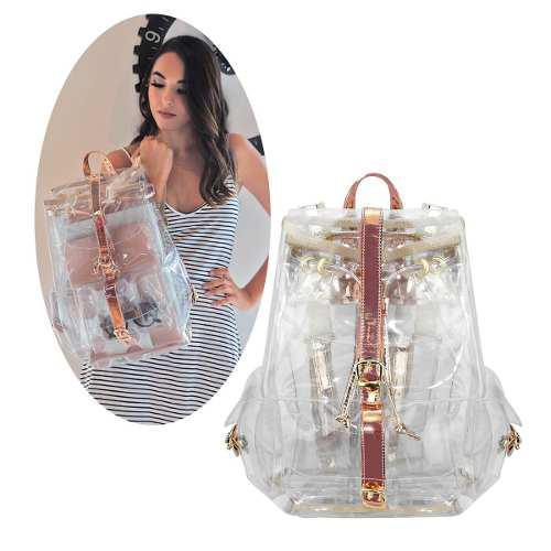 Mochila Transparente De Moda Fashion ¡envio Gratis! Full