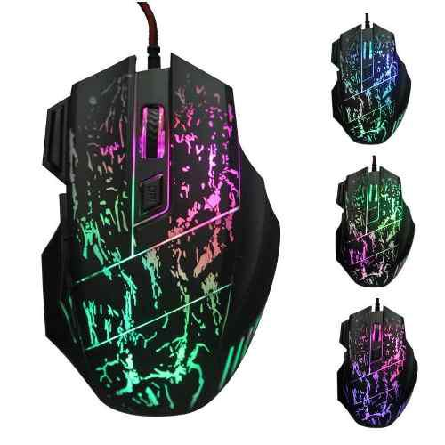 Mouse Gamer 7 Botones Led Gaming Oferta Envio Gratis Barato
