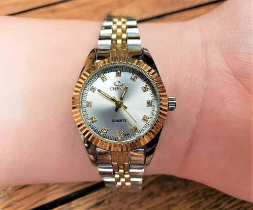 Nuevo Reloj Platinum Excellence! Contra Agua! Inoxidable!