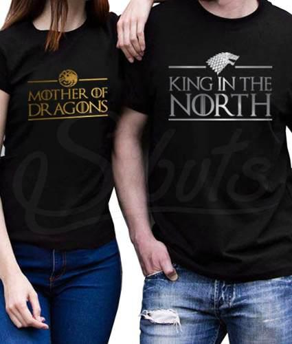 Playera Novios Game Of Thrones King And Mother Envío