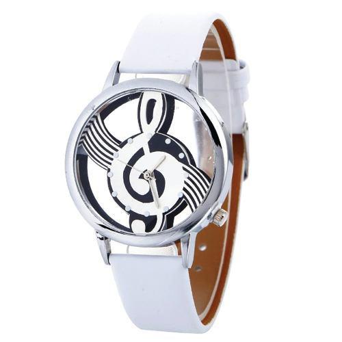 Reloj Clave De Sol Nota Musical Retro Vintage + Envío