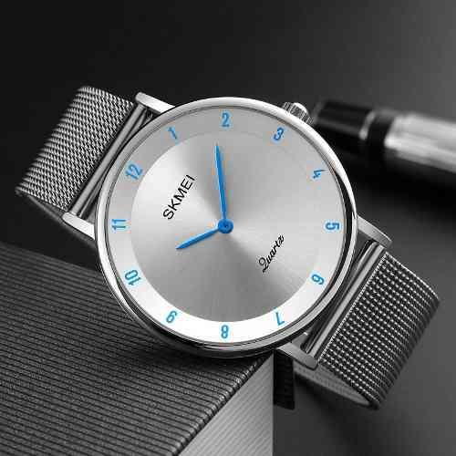 Reloj De Acero Inoxidable Para Hombres Elegante Envió