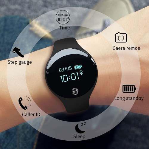 Reloj Inteligente Bluetooth Para Ios Android Hombres Mujeres