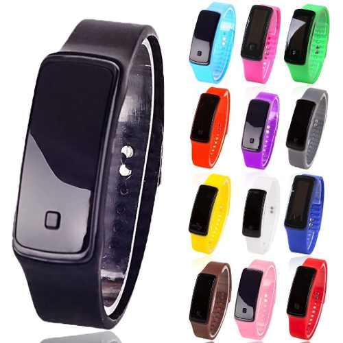 Reloj Pulsera Led Digital Unisex