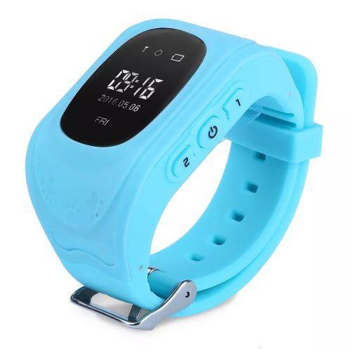 Reloj Smart Watch Niño Gps Rastreador Q50 Verde Azul Negro