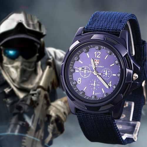 Reloj Tactico Militar Hombre Moda Caballero Camping Scout
