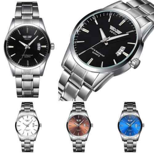 Relojes De Moda 2019 Metálicos Hombre Calidad Premium