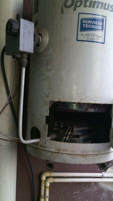Reparación y instalacion de calentadores