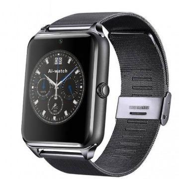 Smartwatch Metalico Reloj Inteligente Sim Camara Bluetooth