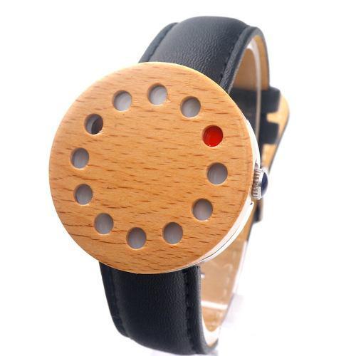 Bobobird Moda Casual Reloj De Madera Cuarzo Unisex
